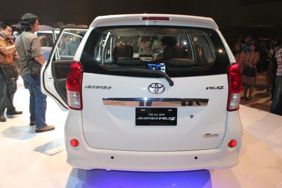 Toyota All New Avanza Veloz 2012