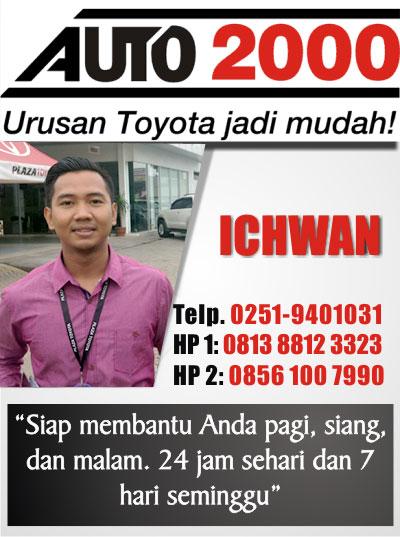 Kontak Sales Toyota Bogor